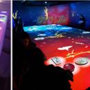 必胜客打造「莫奈睡莲沉5D全息投影沉浸式餐厅」