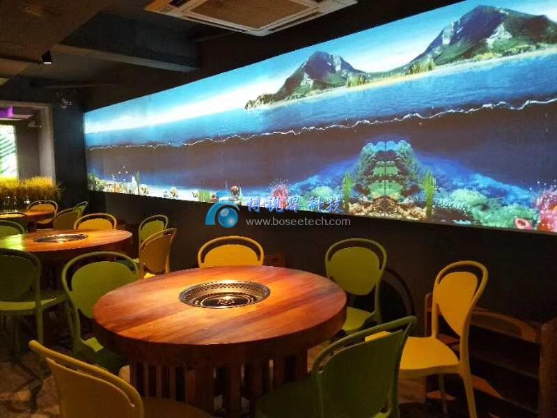 江苏盐城首家3D全景数字餐厅在阜宁开业,美蛙火锅就是这里-博视界科技
