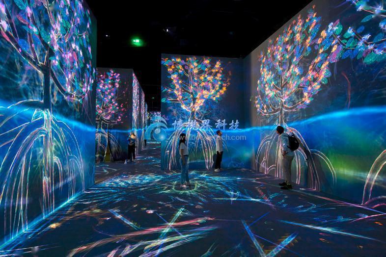 创意5D全息多媒体展厅设计案例欣赏-博视界科技