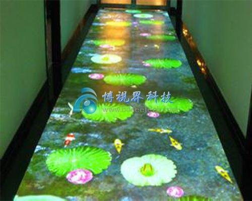 深圳溪游记5D全息餐厅升级改造-博视界科技