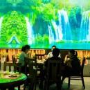江西赣州首家5D全息投影餐厅改造完成开业